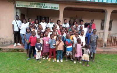 EDUFREM Association et l'association Cœurs d'anges à l'orphelinat Dan & Sarah